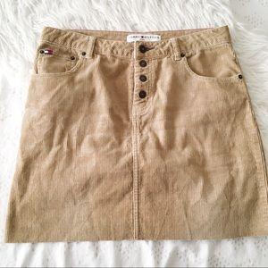 Tommy Hilfiger Corduroy Skirt